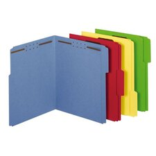 11 pt. Letter Size Fastener Folder (Set of 250)