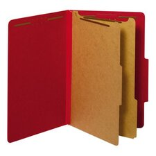 <strong>Globe Weis</strong> 25 pt. Legal Size Classification Folder (Set of 50)
