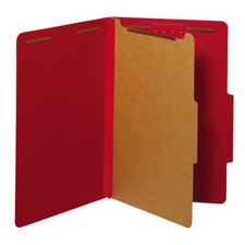 25 pt. Legal Size Classification Folder (Set of 50)