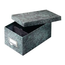 Fiberboard Index Card Storage Box (Set of 12)