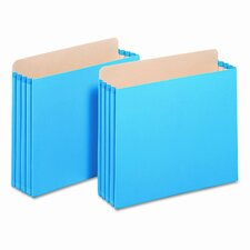 <strong>Globe Weis</strong> Letter Size Cabinet Pocket File (Set of 10)