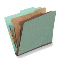 25 pt. Letter Size Classification Folder (Set of 20)