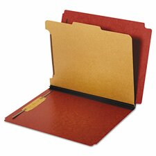 Dual Tab Classification Folder (10 Pack)