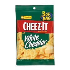 <strong>Keebler</strong> Cheez-It, 3 Oz., 6/BX, White Cheedar