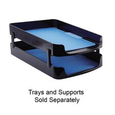 "Front Loading Legal Tray, 10-1/4""x15-7/8""x2"", Black"