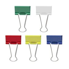 Medium Binder Clips, 24/Pack