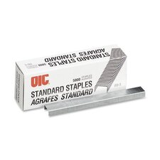 Staples, Standard Chisel Point, 5000 Staples/Box
