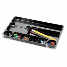 <strong>Officemate International Corp</strong> Recycled 9-Compartment Desk Drawer Organizer