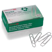 Giant Recycled Paper Clips