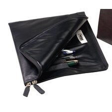 <strong>Winn International</strong> Buffalo Napa Slim Underarm Portfolio Leather