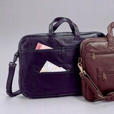 Leather Slim Leather Briefcase