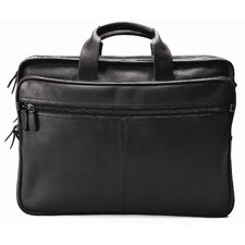 Checkpoint Leather Laptop Briefcase