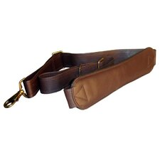 Extra-Long Ergonomic Leather Shoulder Strap