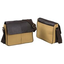 Messenger Bag in Tan / Brown