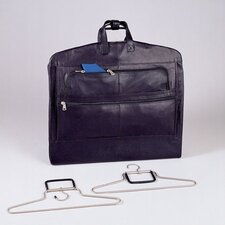 Napa Supple Cowhide Leather Garment Carrier