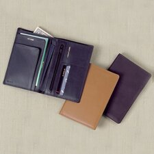 Cowhide Nappa Leather Deluxe Passport Case