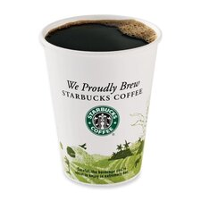<strong>Starbucks Coffee</strong> (1000 per Carton) 12 oz Starbucks Hot Cups in White