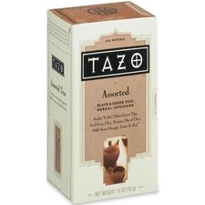Tazo Tea, 24/PK, Assorted (Black/Green)
