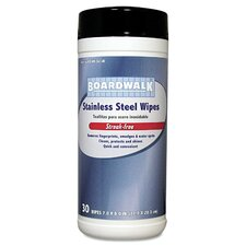Stainless Steel Wipes (Canister of 30)