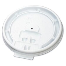 Hot Cup Tear-Tab Lid in White
