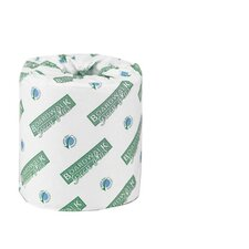 Green Plus Bathroom Tissue in White