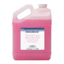 Mild Cleansing Pleasant Scent Lotion Soap in Pink