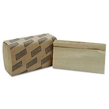 Single Fold Kraft Paper Towels - 250 Towels per Box