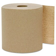 Hard-Wound Kraft 1-Ply Paper Towels