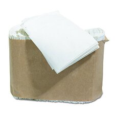 "7"" Low-Fold Dispenser Napkin in White"