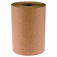 Hardwound 1-Ply Paper Towels - 6 Rolls per Carton