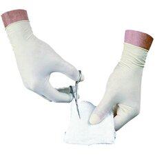 Disposable Latex Medium Powder Free Exam Gloves Non-Sterile