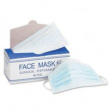 <strong>Impact</strong> Face Mask, Elastic Ear Loop, 50 Face Masks/Box