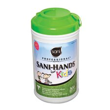 Sani-Hands for Kids in White