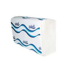 Embossed C-Fold 1-Ply Paper Towels - 150 Towels per Pack