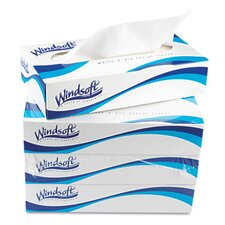 Facial Tissue in White