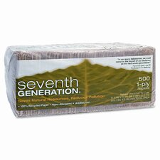 (500 per Carton) 100% Recycled Natural Napkins