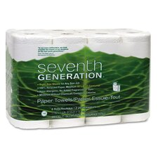 Recycled Bathroom 2-Ply Toilet Paper - 300 Sheets per Roll (Set of 4)