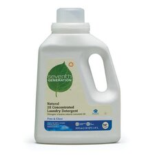 <strong>Seventh Generation</strong> 150 Ounce Natural 2X Concentrate Laundry Liquid Detergent