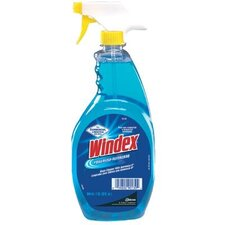 Johnson Diversey - Windex Glass Cleaners Windex 32 Oz Rtu Ammoniad Capped Trigger Sprayer: 395-90135 - windex 32 oz rtu ammoniad capped trigger sprayer