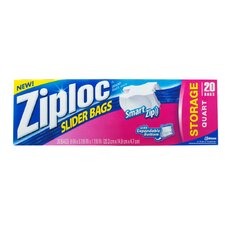 Ziploc EZ Zipper Storage Bag (Pack 12)