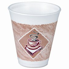 <strong>Dart Container Corp.</strong> Foam Hot/Cold Cups, 8 Oz, 1000/Carton