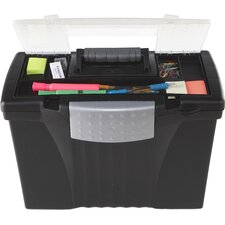 Legal/Letter Portable File Box (Set of 2)