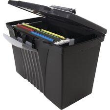 Legal/Letter Portable File Box (4 Count)