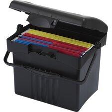 Economy Portable File Box (4 Count)