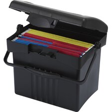 Economy Portable File Box (Set of 4)
