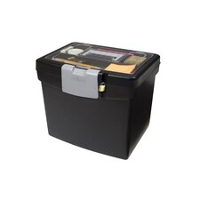Portable File Box (Set of 2)