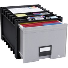 Archive Drawer with Lock (Set of 2)