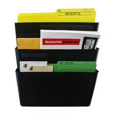Unbreakable Letter Wall File (Set of 18)
