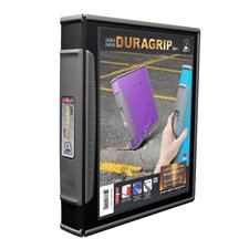 DuraGrip Hard Poly D-Ring View Binder (6 Count)