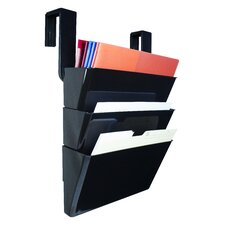Wall File with Partition Hanger (Set of 3)